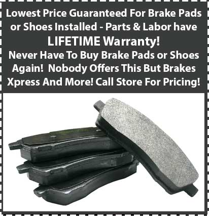 59 Dollar Brake Pads For Life!